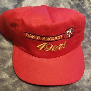 San Francisco 49ers hat  vintage hat 90s